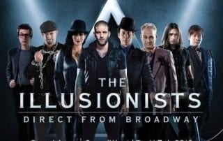The Illusionists show in South Africa