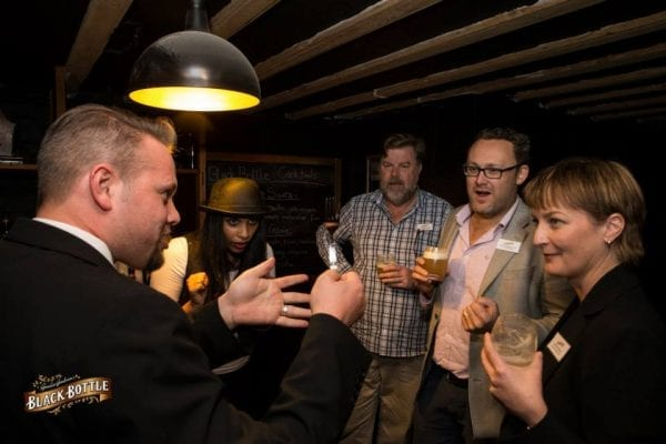 Magic entertainment was a key component of this Scottish whiskey launch in South Africa
