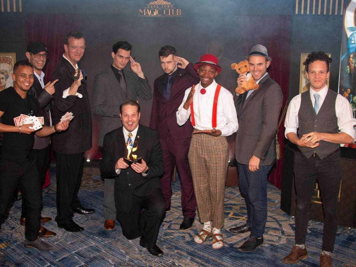 Theatrical Productions 1   Cape Town Magic Club Monday Night Magic   Magic Africa Productions