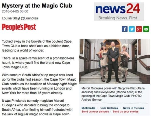 """""""Mystery at the Magic Club"""" – News24"""