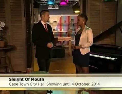 SABC 3 Expresso television interview – Sept 2014
