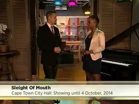 Marcel Oudejans entertains on live TV on the Expresso morning show
