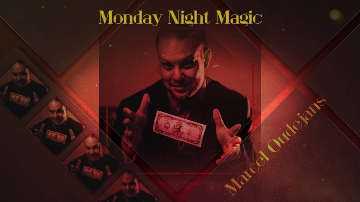 Teaser video of Marcel's performance at Cape Town Magic Club