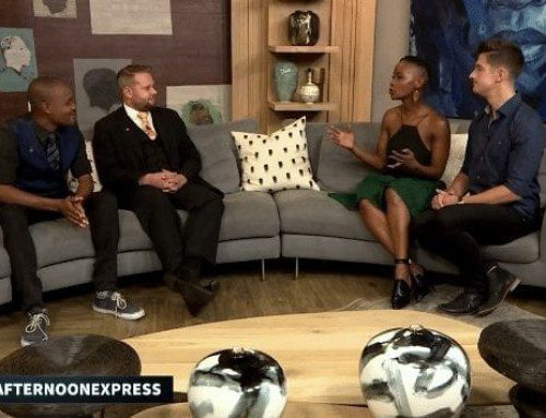 Marcel interviewed about Cape Town Magic Club on Afternoon Express