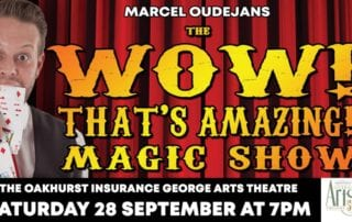"The ""Wow, That's Amazing!"" Magic Show Poster George 2019"