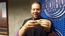 Marcel performs magic in this video shot in Good Hope FM studios