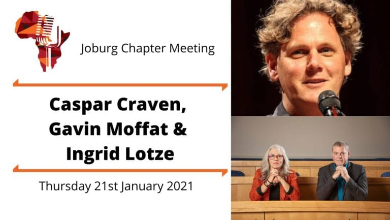 Caspar Craven, Ingrid Lotze and Gavin Moffat