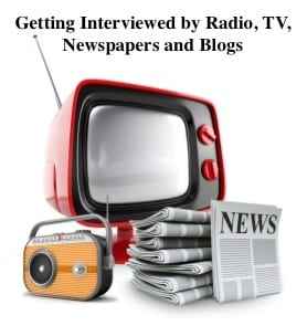Getting on Radio and TV