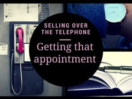 Getting That Appointment