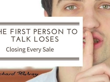The First Person to Talk Loses