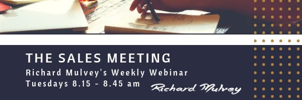 The Sales Meeting Richard Mulvey blog size